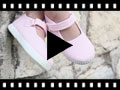Video from Scarpe Bambina Velcro Suola Tipo Sneakers
