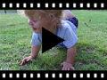 Video from Scarpine neonato occhio di bue di velcro a pois