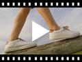 Video from Scarpe contrasto di tela e lacci