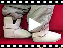 Video from Scarpe neonato stile eschimese