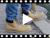 Video from Stivali stile montagna bambini e adulti