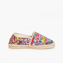 Espadrillas fantasia bambini e adulti Graffiti