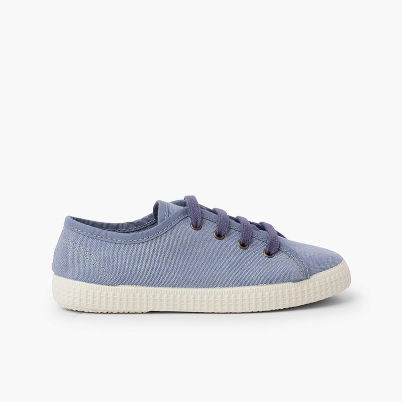 Sneaker in tela vegana biologica