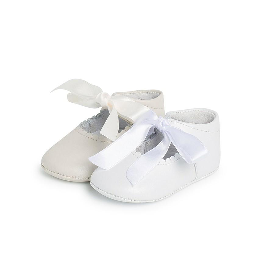 Scarpe/Scarpine Bambina Neonata Battesimo