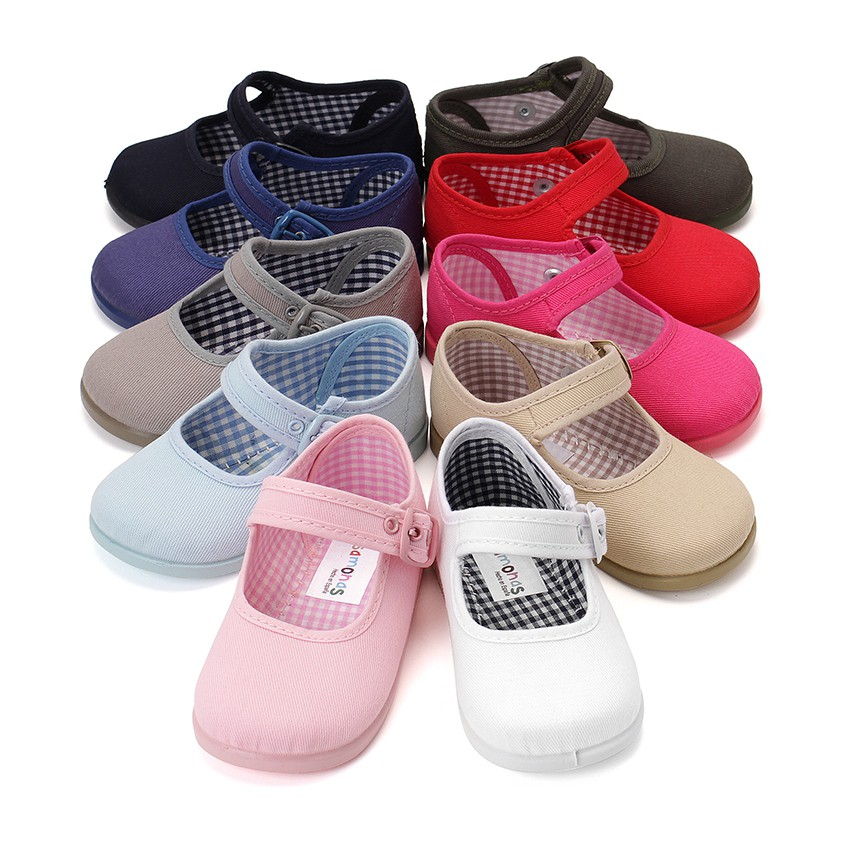 Scarpe di tela per bambine