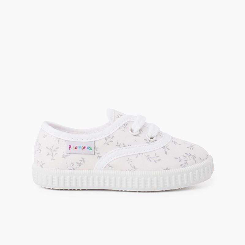 Sneakers in Tela Stampata Bambini
