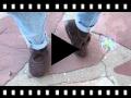 Video from Scarpe effetto scamosciato Velcro Nastro