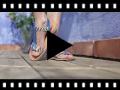 Video from Sandali pelle Animal Print