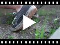 Video from Blucher effetto scamosciato con base espadrillas