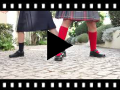 Video from Scarpe Back to School Bambina Velcro