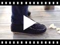 Video from Mocassini Bambino Scamosciati Nastro