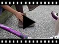 Video from Stivali bambine scamosciati con frange