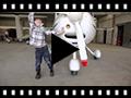 Video from Stivali bambini scamosciati Aviatore con cerniera