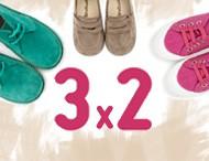 3x2 Pisamonas Scarpe per Bimbi Febraio 2017