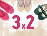 3x2 Pisamonas Scarpe per Bimbi Febraio