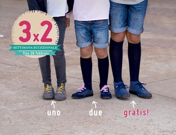 3x2 Sneakers Bambino
