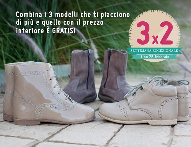 3x2 Stivali per Bambina