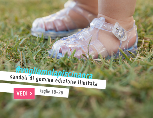 Sandali di gomma Pisamonas - Edizione Limitata Collezione Primavera Estate