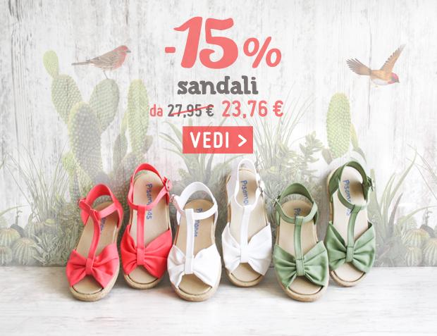 Sandali Saldi Primavera Estate 2017