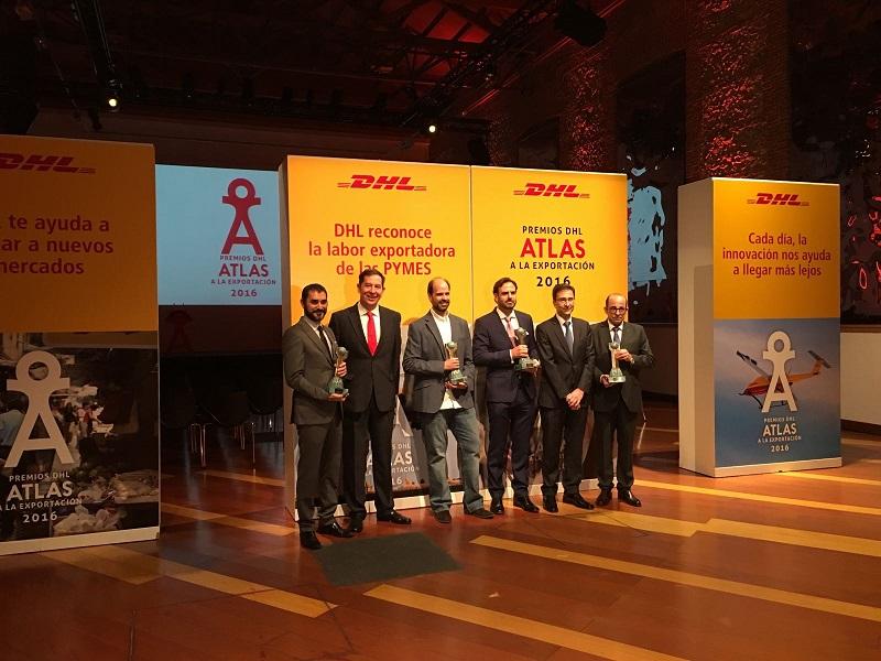 Premi DHL Atlas per la Esportazione 2016
