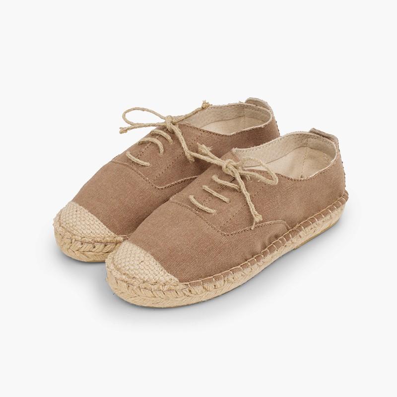 Zapatos yute elegantes