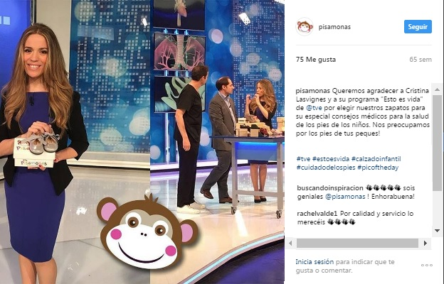 Instagram pisamonas tv